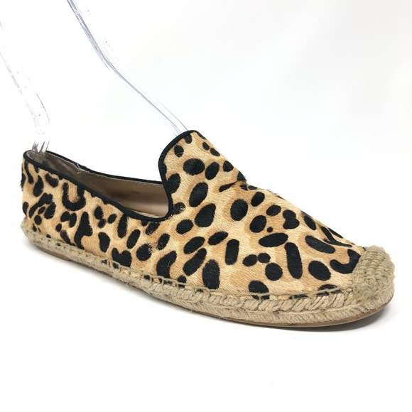 1c46b1af3948 Steve Madden Lanii Leopard Calf Hair Espadrille 10.  M_5c09f7d9c617774bf730a14b